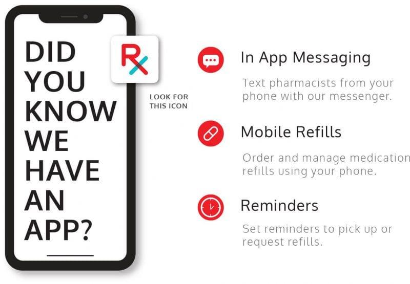 Pharmacy app - online medication refills