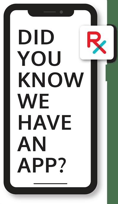 Online prescription refills app image